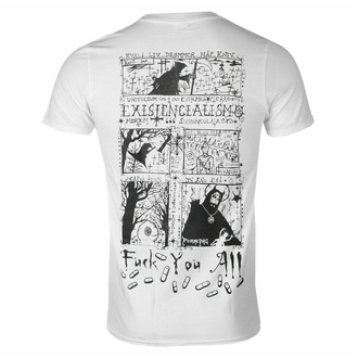 Herren T-Shirt Carpathian Forest - Evil Egocentric Existentialism - Weiß, SEASON OF MIST, Carpathian Forest