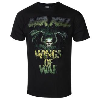 Herren T-Shirt Metal Overkill - Cover Wings Of War - ART WORX, ART WORX, Overkill