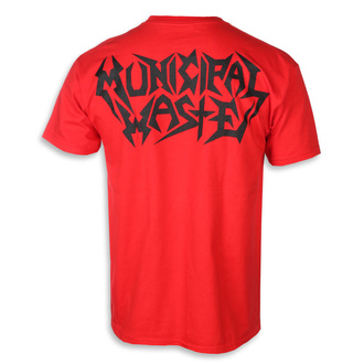 Herren T-Shirt Metal Municipal Waste - Skelbot - ART WORX, ART WORX, Municipal Waste