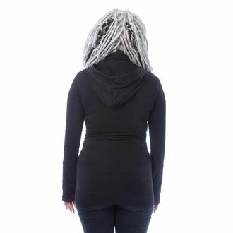 Damen Sweatshirt CHEMICAL BLACK - EUDORA - SCHWARZ, CHEMICAL BLACK