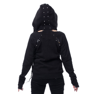 Damen Hoodie - EVIE - CHEMICAL BLACK, CHEMICAL BLACK
