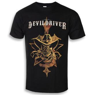 Herren T-Shirt Metal Devildriver - Cowboy - NAPALM RECORDS, NAPALM RECORDS, Devildriver