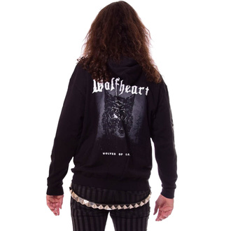 Herren Hoodie WOLFHEART - Wolves of Karelia - NAPALM RECORDS, NAPALM RECORDS, Wolfheart