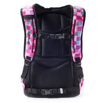 Rucksack MEATFLY - Exile - F Cross Pink / Black , MEATFLY