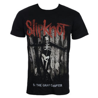 Herren T-Shirt Metal Slipknot - Grey Chapter - ROCK OFF, ROCK OFF, Slipknot