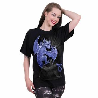 Unisex T-Shirt SPIRAL - POCKET DRAGON - Schwarz, SPIRAL