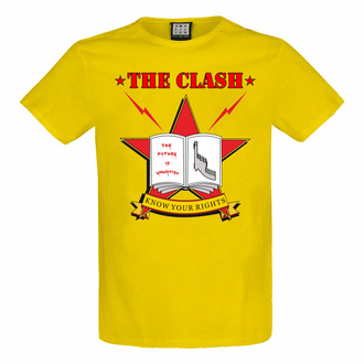Herren T-Shirt THE CLASH - KNOW YOUR RIGHTS - AMPLIFIED, AMPLIFIED, Clash