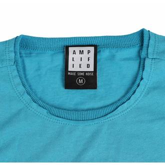 Herren T-Shirt CYPRESS HILL - FLORAL SKULL - TEAL PANTHER - AMPLIFIED, AMPLIFIED, Cypress Hill