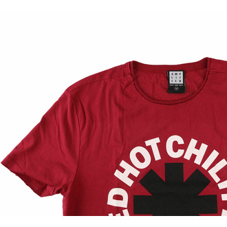 Herren T-Shirt RED HOT CHILI PEPPERS - INVERTED ASTERIX - ROT ZEPPELIN - AMPLIFIED, AMPLIFIED, Red Hot Chili Peppers