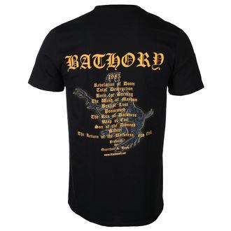 Herren T-Shirt Metal Bathory - THE RETURN... 2017 - PLASTIC HEAD, PLASTIC HEAD, Bathory