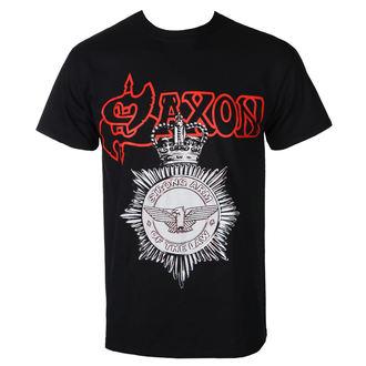Stylisches Herren T-Shirt mit Original-Frontprint von RAZAMATAZ Saxon - STRONG ARM OF THE LAW - RAZAMATAZ, RAZAMATAZ, Saxon
