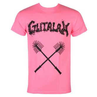Herren T-Shirt GUTALAX - toilet brushes - savety rosa - ROTTEN ROLL REX, ROTTEN ROLL REX, Gutalax