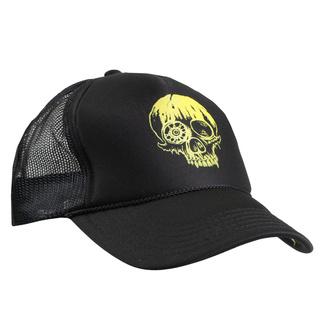Kappe Cap TOXIC HOLOCAUST - Skull - Schwarz - INDIEMERCH, INDIEMERCH, Toxic Holocaust