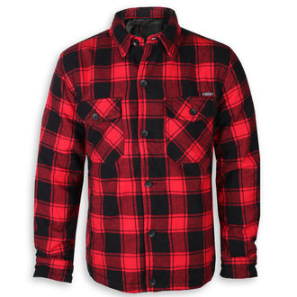 Winterjacke - Lumberjacket checked - BRANDIT, BRANDIT