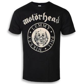 Herren T-Shirt Metal Motörhead - Undercover Seal Newsprint - ROCK OFF, ROCK OFF, Motörhead