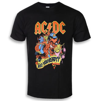 Herren T-Shirt Metal AC-DC - Are You Ready - ROCK OFF, ROCK OFF, AC-DC