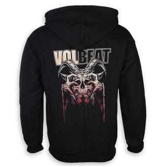 Herren Hoodie Volbeat - Bleeding Crown Skull - ROCK OFF, ROCK OFF, Volbeat
