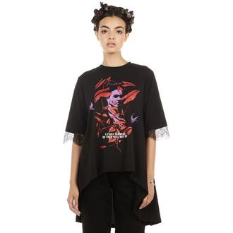 Damen T-Shirt Hardcore - Frida Flowers - DISTURBIA, DISTURBIA