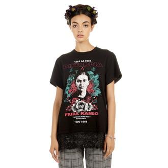 Damen T-Shirt Hardcore - Frida Viva La Vida - DISTURBIA, DISTURBIA