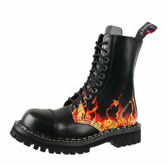 Schuhe Boots STEADY´S - 10-Loch - Fire, STEADY´S
