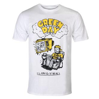 Herren T-Shirt Metal Green Day - Longview - ROCK OFF, ROCK OFF, Green Day
