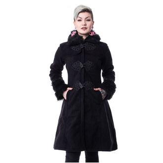 Damen Mantel POIZEN INDUSTRIES - FROZEN - SCHWARZ, POIZEN INDUSTRIES