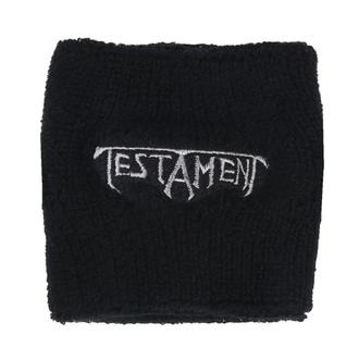 Schweißband Testament - Logo - RAZAMATAZ, RAZAMATAZ, Testament