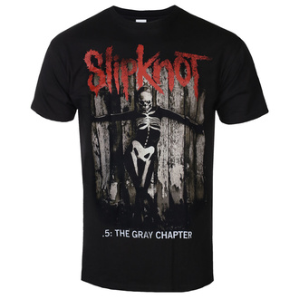 Herren T-Shirt Slipknot - The Gray - Kapitel Album - ROCK OFF, ROCK OFF, Slipknot