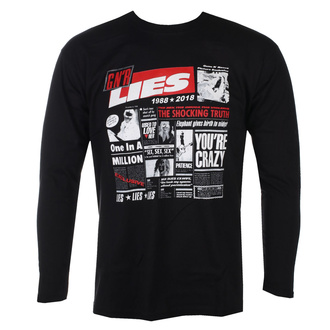 Herren Longsleeve Guns N' Roses - Lies Cover - BL - ROCK OFF, ROCK OFF, Guns N' Roses