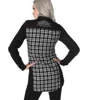 Damen Langarmhemd HYRAW - GRISE, HYRAW