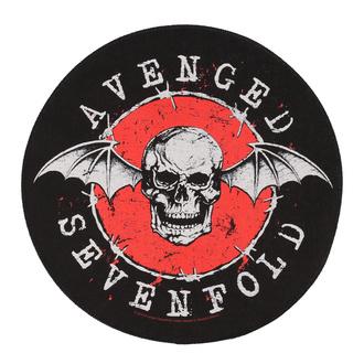 Rückenaufnäher groß Avenged Sevenfold - Distressed Skull - RAZAMATAZ, RAZAMATAZ, Avenged Sevenfold