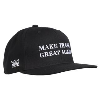 Kappe Cap HOLY BLVK - MAKE TRASH GRATE AGAIN, HOLY BLVK