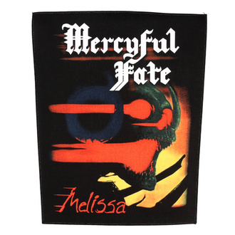 Rückenaufnäher Patch groß Mercyful Fate - Melissa - RAZAMATAZ, RAZAMATAZ, Mercyful Fate