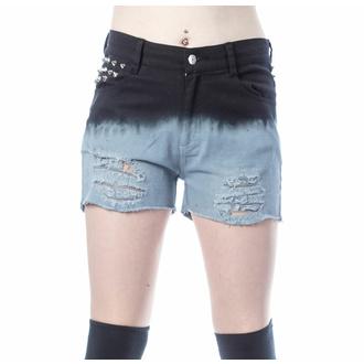 Damen Shorts VIXXSIN - GAIA - SCHWARZ/GRAU, VIXXSIN