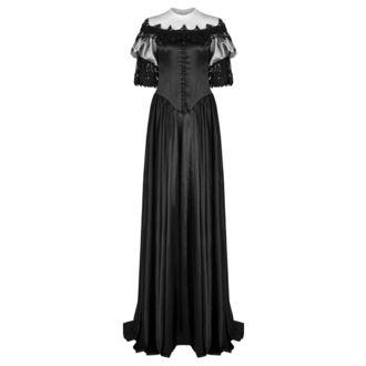 Damen Kleid (Hochzeit, Ballkleid) PUNK RAVE - Black Ruby Gothic, PUNK RAVE