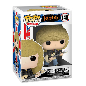 Figur Def Leppard - POP! - Rick Savage, POP, Def Leppard