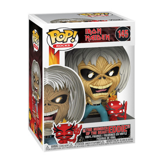 Figur Iron Maiden - POP! - Number of the Beast - Skelett Eddie, POP, Iron Maiden