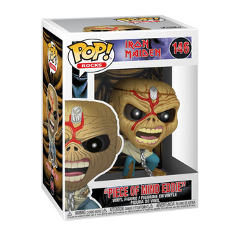 Figur Iron Maiden - POP! -Piece of Mind - Skelett Eddie, POP, Iron Maiden
