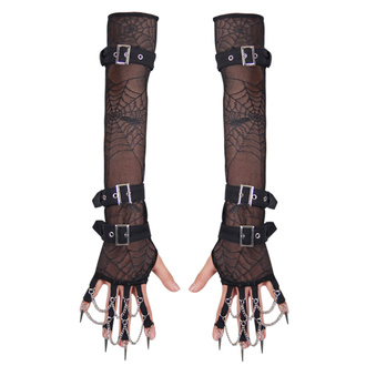 Gothic Armstulpen DEVIL FASHION - Gothic Xena, DEVIL FASHION