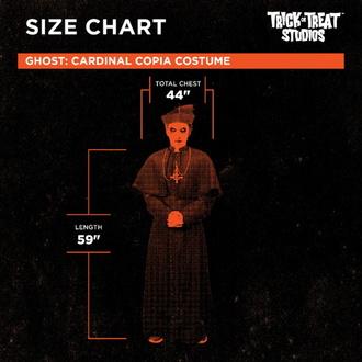 Kostüm Ghost - Cardinal Copia, Ghost