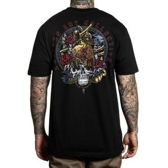 Herren T-Shirt SULLEN - GOLD HEARTED - SCHWARZ, SULLEN