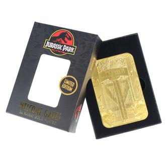 Jurassic Park Dekoration - Card Metal Entrance Gates, NNM, Jurassic Park