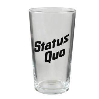 Glas STATUS QUO - LOGO, RAZAMATAZ, Status Quo