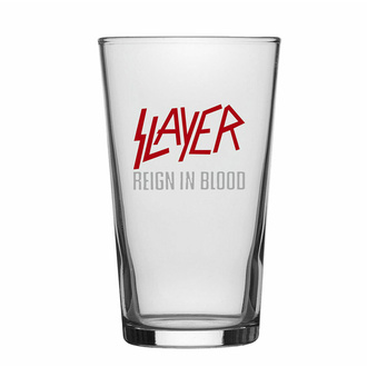 Glas SLAYER - REIGN IN BLOOD, RAZAMATAZ, Slayer
