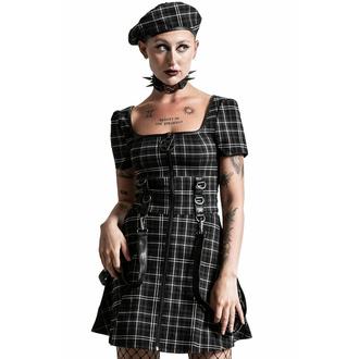 Damenkleid KILLSTAR - Grave Rebellion - ASH TARTAN, KILLSTAR
