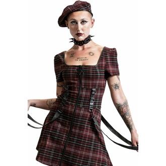 Damenkleider KILLSTAR - Grave Rebellion - BLOOD TARTAN, KILLSTAR