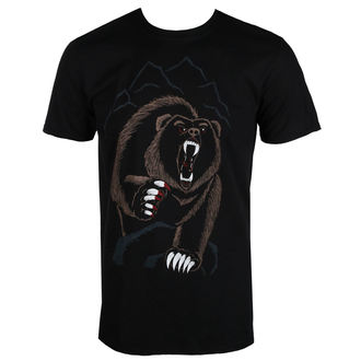 Herren T-Shirt Hardcore - BEAR NECESSITIES - GRIMM DESIGNS, GRIMM DESIGNS