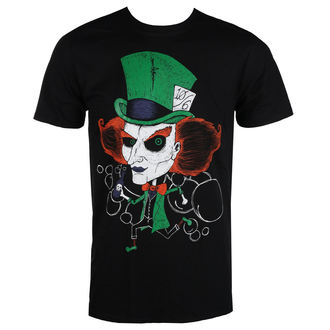 Herren T-Shirt Hardcore - MAD HATTER - GRIMM DESIGNS, GRIMM DESIGNS