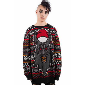 Unisex Jumper KILLSTAR - Hail Santa, KILLSTAR