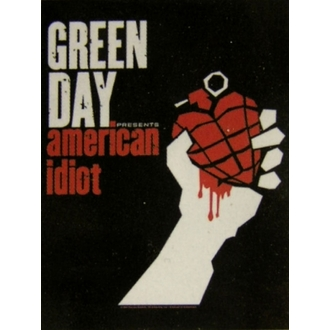 Fahne Green Day - American Idiot - HFL0742